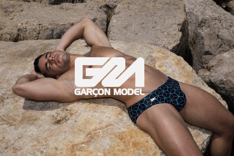 Garçon Model Quantum Swimwear Collection 1